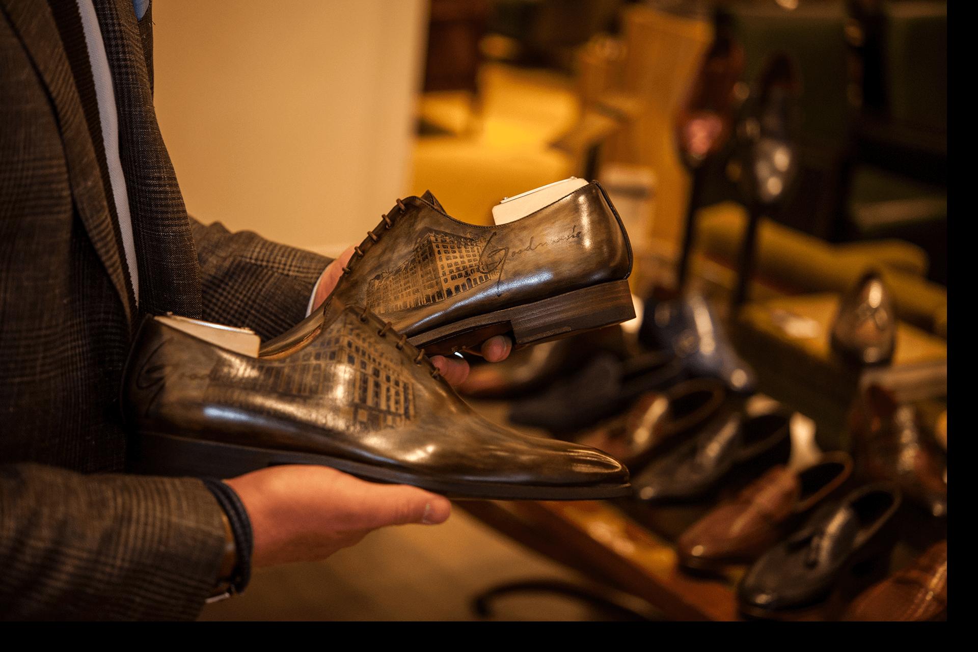 Zo houdt je leren schoenen schoon