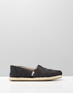 Toms Alpargata Rope Instappers 10009751 Black 112853-08 1