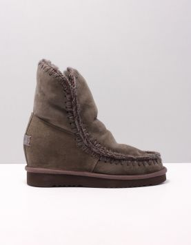 Mou Innerwedge Short Boots Lap D.grey 114834-24 1