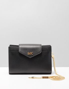 Michael Kors M.c0nv.x-clutch Tassen 32h8gf5c2l Black-gold 115511-08 1