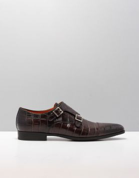 Santoni 10686-william Nette Schoenen Agl T50 T.moro 112206-11 1