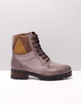 Manas 172m5905ivex Boots Taupe 116624-33 1