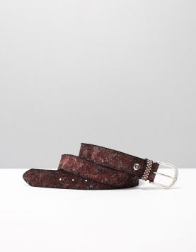 B.belt Bb0748l83 Riemen 7918 Burgundy 115386-61 1