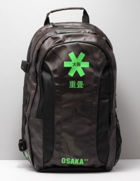 Osaka Sp Large Backpack Tassen 10103 Black Camo-green 115254-09 1