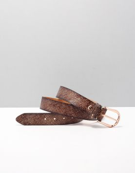 B.belt Bb0677l76 Riemen 6899 Brown 115038-11 1