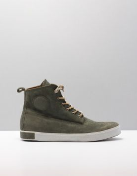 Blackstone Am02 Sportieve Veterschoenen D.green 114965-84 1