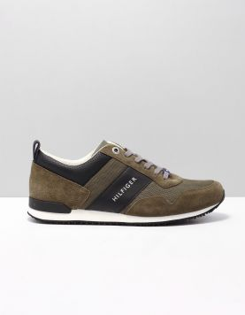 Hilfiger Iconic Runner Sneakers Fm0fm02273-010 Olive Night 116717-83 1