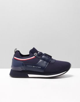 Hilfiger Knitted Sock Sneakers Fw0fw04147-406 Midnight 116713-71 1