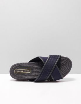 Hilfiger Colourful Flat Instappers Fw0fw04159-403 Midnight 116708-71 1