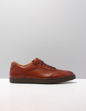 V.bommel 16312 Sneakers 08 Darkcognac 114722-13 1