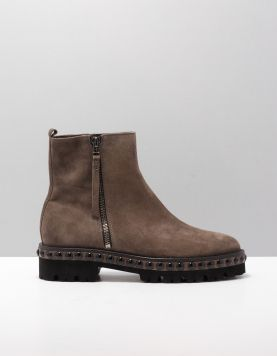 K & S 81-33540 Boots 366 Suede Piombo-black 114580-34 1