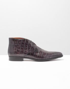 Santoni 07416-william Nette Schoenen Agl N01 Nero 114485-08 1