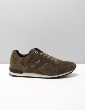 Hilfiger Iconic Runner Sneakers 010 Olive Night 114402-84 1