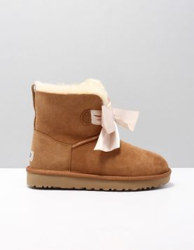Ugg Gitta Bow Mini Boots 1098360 Chestnut 114359-14 1