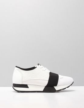 Miss Behave Lola Sneakers Y White-black Glass Combi 113930-50 1
