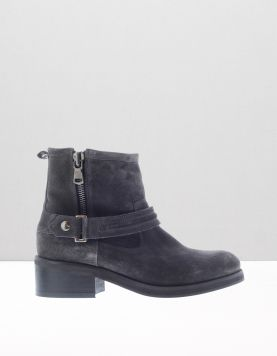 Nubikk Dalida Side Zip Boots Grey 112534-24 1