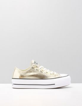Converse All Star Lift Ox Sneakers 560249 Gold 112569-90 1