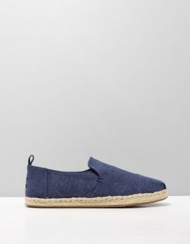 Toms Deconstr Alpargata Instappers 10011623 Navy Washed 112844-71 1