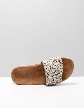 Maruti Berlin Slippers Pixel Off White-black Hairon 116214-39 1