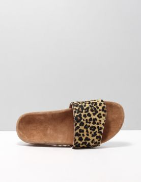 Maruti Berlin Slippers Jaquar Tan-black-brown Hairon 116214-19 1