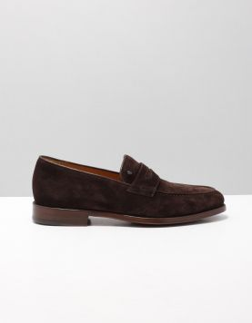 V.bommel 11132 Instappers 00 Darkbrown 116090-14 1