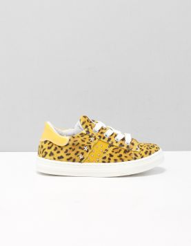 Develab 42456 Schoenen Met Veters 399 Yellow Combi Fantasy 115960-49 1