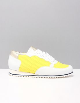Hassia 7-301624 Sneakers 8402 Limone Weiss 115939-49 1
