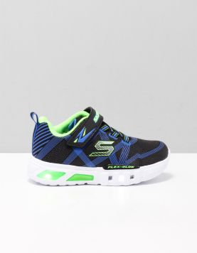 Skechers 90542n Schoenen Met Veters Bblm Black Blue Lime 115888-08 1