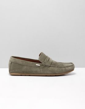 Hilfiger Suede Loafer Instappers Fm0fm02109010 Olive Night 115669-84 1