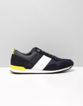 Hilfiger Iconic Runner Sneakers Fm0fm02042403 Midnight 115667-71 1