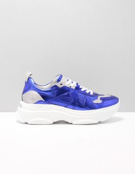 K & S 91-26500 Sneakers 621 Royal-silver 115607-71 1