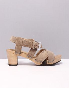 Softclox S3462 Slippers Taupe 116400-34 1