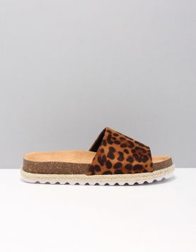 Ct0018665-1 Slippers Brown Leopard 116814-19 1