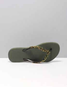 Precious Classic Slippers Army 116827-83 1