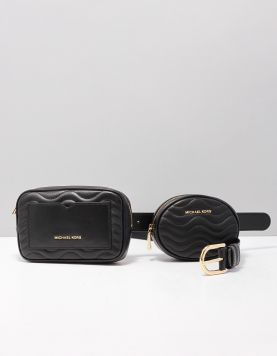 Michael Kors S.full Flap Tassen 32f9sj6c1l-001 Black 117292-08 1