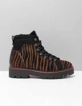 Scotch & Soda Olivine Boots 19731131 S454 Pony Zebra 117166-19 1