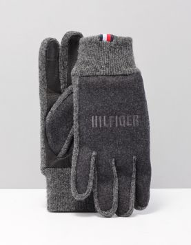 Hilfiger Hilfiger Gloves Handschoenen Am0am05177oit Grey Mix 117910-23 1