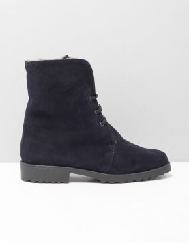 Brunate 28550 Boots Camoscio Blue 117649-74 1