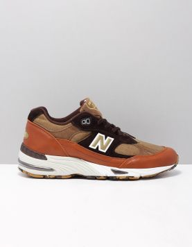 New Balance M991 Sneakers 93 S0p Tan Multi 117764-19 1