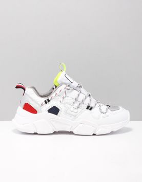 Hilfiger Voyager Chunky Sneakers Fw0fw04610-ibs White 117946-50 1
