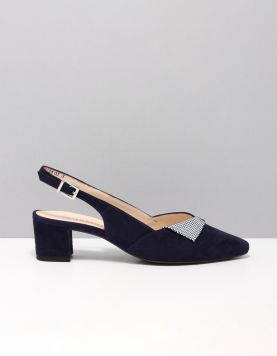 Peter Kaiser 47305 Slippers 609 Notte Suede 115851-74 1