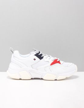 Hilfiger Chunky Trainer Sneakers Fw0fw04065-100 White 118214-50 1