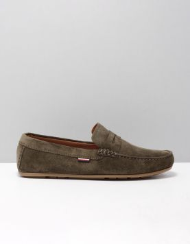 Hilfiger Penny Loafer Instappers Fm0fm02725-rbn Army Green 118226-84 1