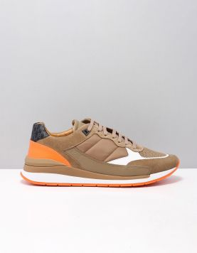Boss Green Element Run Sneakers 50428292-288 Open Beige 118155-33 1