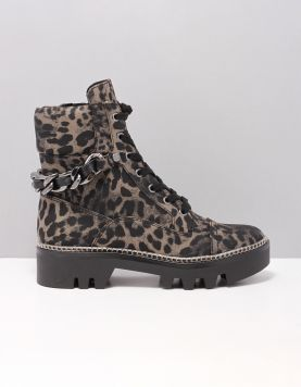Guess Domain Boots Fl7-dom-sup10 Leopard 116804-29 1