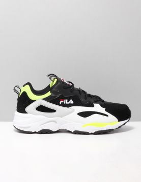 Fila Ray Tracor Sneakers 1010925-13z Black Neon Lime 118357-09 1