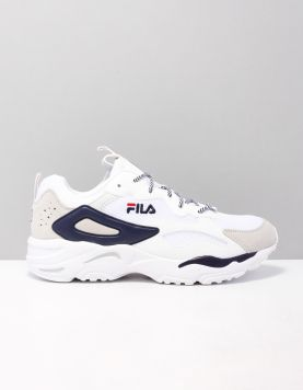 Fila Ray Tracor Sneakers 1010925-92e White-fila Navy 118357-50 1
