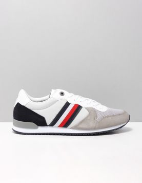 Hilfiger Iconic Mix Runner Sneakers Fm0fm02667-prt Antic Silver 118227-50 1