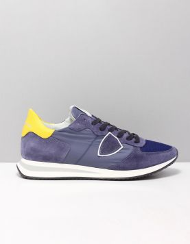 Philippe Model Tzlu-tropez X Sneakers W031 Blue Jaune 118333-71 1