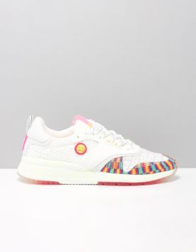 Scotch & Soda Vivi 1a Sneakers S299 White Rainbow Mix 118394-59 1